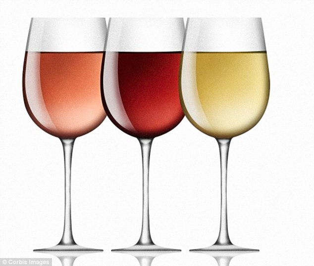 White wine also contains up to 10 times more sugar than red, according to the Food Standards Agency. Whereas red contains 0.2g sugar per 100ml, rose contains 2.5g per 100ml. Meanwhile dry white wine contains 0.6g and medium white wine 3g per 100ml