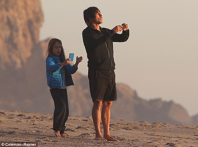 Red Hot Chili Peppers Anthony Kiedis And His Son Take
