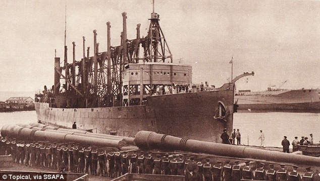 How In 1914 A US Navy Santa Claus Ship Sailed To England