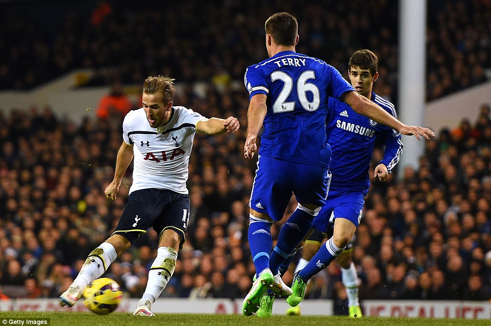 The impressive Harry Kane brilliantly fired in an equaliser from outside the box later in the first half