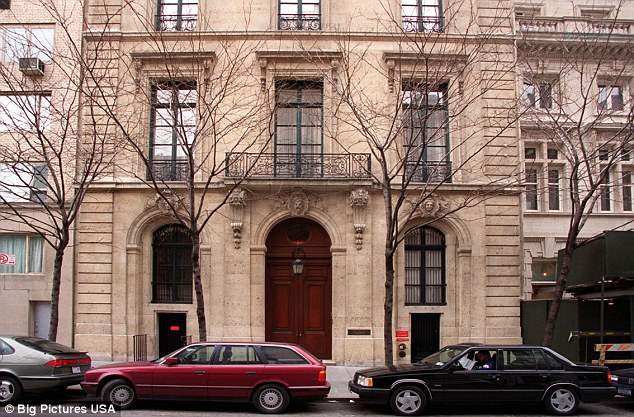 A picture of Jeffrey Epstein's apartment in New York, where Prince Andrew is said to have stayed