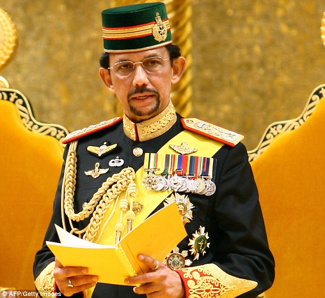 Brunei prince renounce homosexuality and christianity