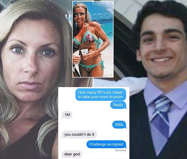 Virginia School Stops Anthony Pinnisis Attempt To Take Friends Mother To Prom Daily Mail Online