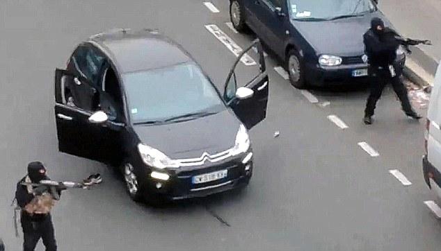 atacantes de Charlie Hebdo
