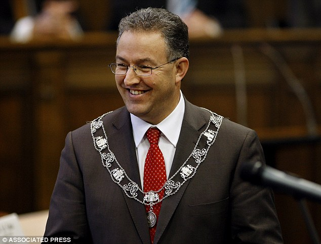 Dutch courage: Ahmed Aboutaleb, mayor of Rotterdam, said that Muslim immigrants who do not appreciate freedom of speech enjoyed in the Netherlands can 'f*** off'