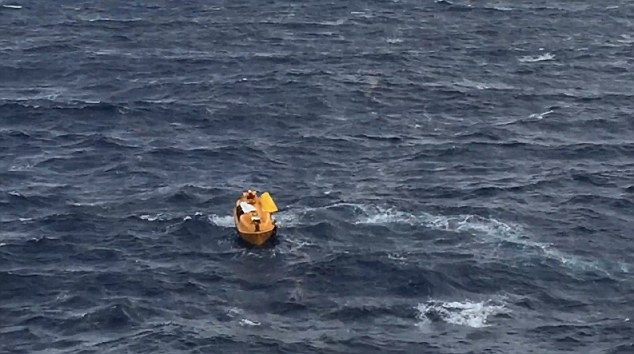 The rescue mission was launched by Disney Magic after passengers and crew spotted someone bobbing in the water