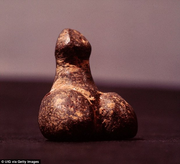 Symbol: In Turkey, during the 6th century BC, ancient Anatolians used sculptures of sex organs (pictured) to ward off evil and ill luck as they believed they contained special powers