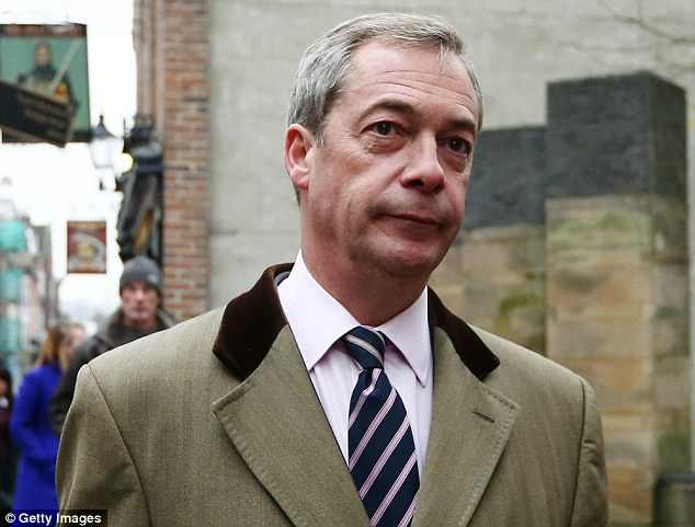 The Ukip leader has strongly denied ever having an affair with the former aide. She no longer works for the party