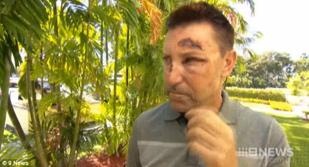 Allenby says he caem to about 10km from the Amuse Wine Bar in Waikiki on Friday night