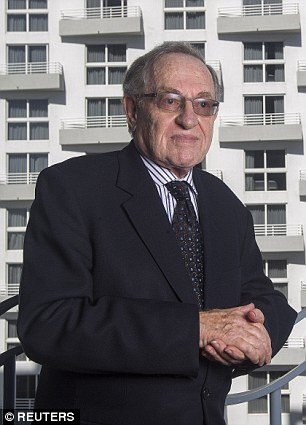 Newly-released flight logs show Harvard law profession Alan Dershowitz (pictured)and former President Bill Clinton flew several times on pedophile Jeffrey Epstein's private plane
