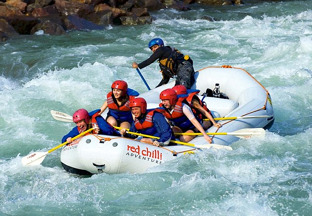 Image result for water sports in rishikesh