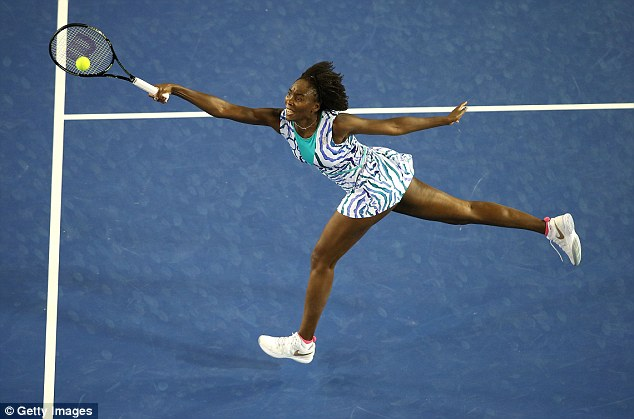 Image result for Playing in her 17th Australian Open, Venus Williams still finds a way to win