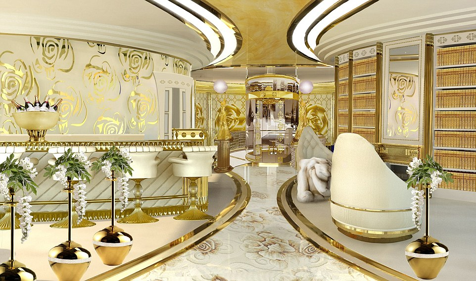 World's First 80 Metre Luxury Mega Yacht La Belle For