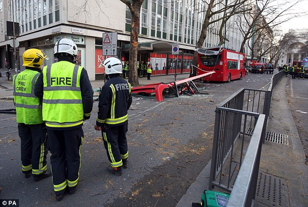 Transport for London is to launch a full investigation into the incident, which happened at around 1pm