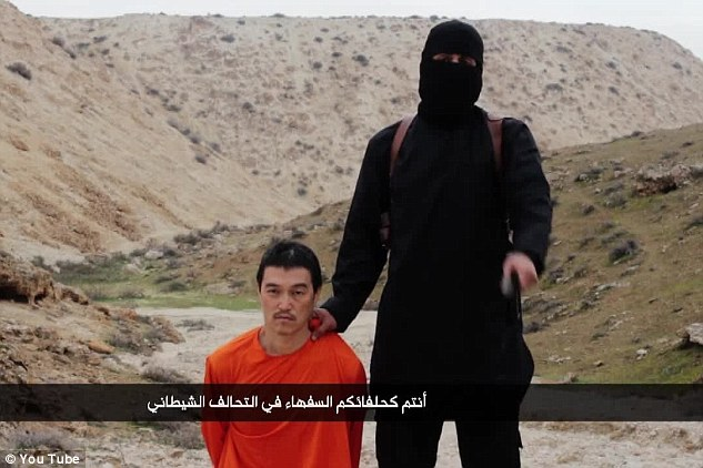 The shocking video comes just days after ISIS' British executioner in chief, Jihadi John, savagely murdered Japanese journalist Kenji Goto in a shocking filmed beheading after days of intensive negotiations