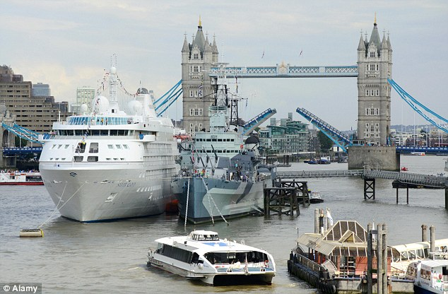 New Cruise Ship Passenger Terminal Planned For Greenwich