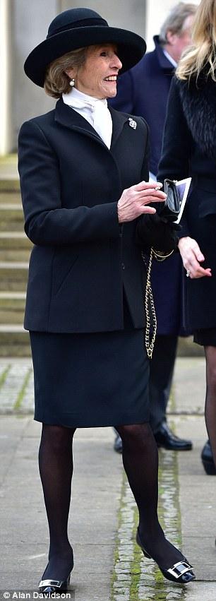 The Duke's third wife, Rosita Spencer-Churchill