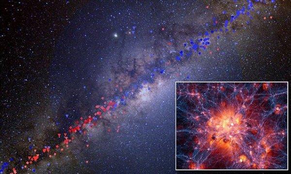 Dark matter is found in the Milky Ways core Elusive
