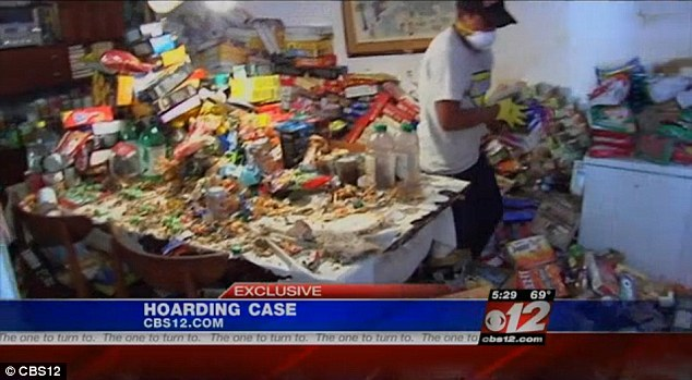 Mountains Of Food Found In Home Of Survivalist Hoarder