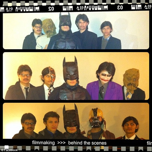 The Wolfpack in some of their amazingly elaborate costumes which they created based on their favorite films