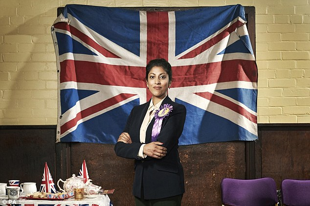 Disaster: A scene from new docu-drama 'Ukip: The First 100 Days' (pictured) suggests a UKIP government would lead to riots in the streets and the loss of millions of jobs after the UK leaves the EU