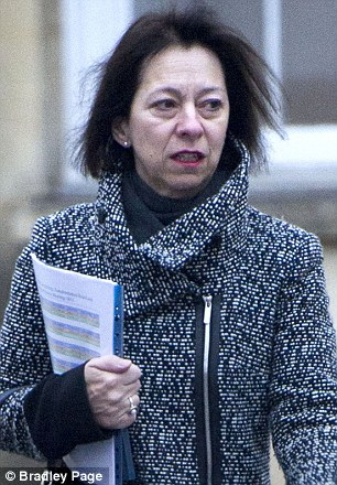 Joanna Simons (pictured) has secured a deal to leave Oxfordshire County Council ahead of the publication of a report criticising the authority