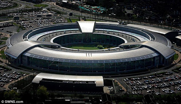 Line of duty: A GCHQ spokesperson said: 'All of GCHQ's work is carried out in accordance with a strict legal and policy framework, which ensures that our activities are authorised, necessary and proportionate'