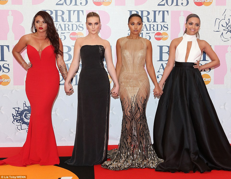 They scrub up well: Little Mix went from phwoar to couture as they channelled the high-end glamour