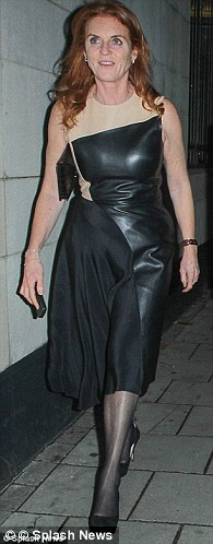Sarah, Duchess of York, trialled the style in a subtle fashion