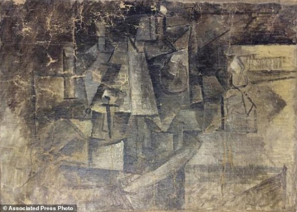 Stolen Picasso painting found in New York | Daily Mail Online