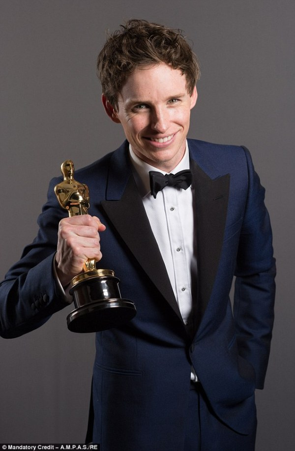 Hollywood calling? Eddie Redmayne is transfixed by his ...