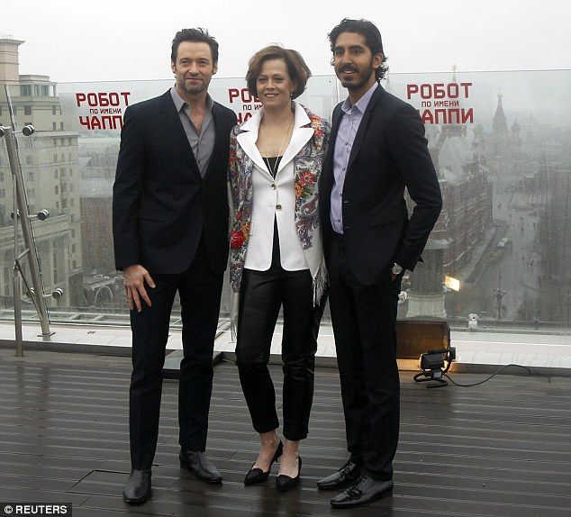Co-stars: His most recent public appearance was on Sunday at a photocall in Moscow alongside co-stars Sigourney Weaver and Dev Patel
