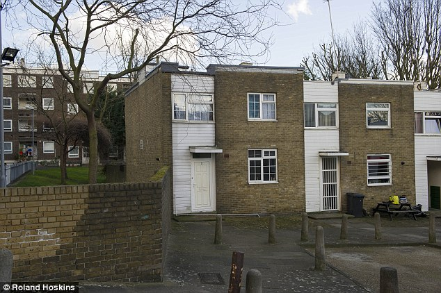 The family claimed asylum in the UK and won refugee status in 1996, after fleeing from Kuwait in 1994. Pictured: Their council flat from 1999 to 2003