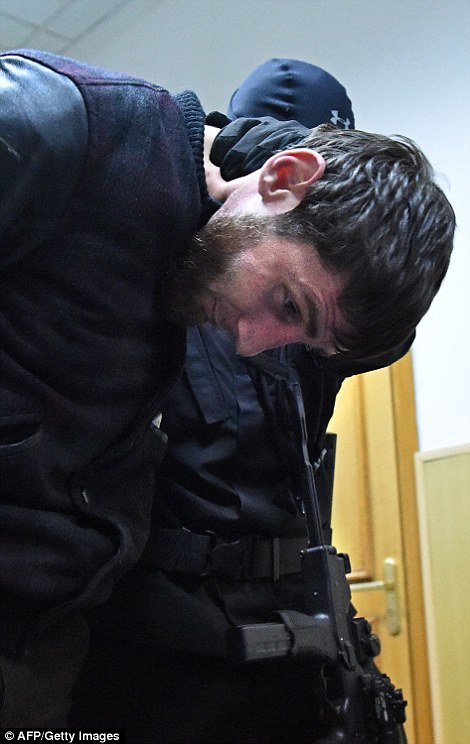 Another suspect was named as Zaur Dadayev, who is believed to have served for around ten years in the 'Sever' battalion, which is part of the interior ministry of Chechnya