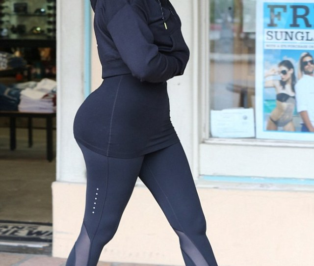Keeping Up With The Kurves Khloe Kardashians Impressive Physique Did Not Go Unnoticed When She