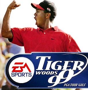 Resultado de imagen de ea sports y tiger woods 1999