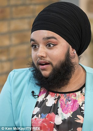 Bearded Woman Harnaam Kaur On TV To Call For More Help For