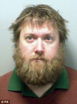 Jailed: Simon Rouen tried to arrange to abuse a woman while working at an Antarctic research base