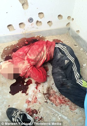 An attacker killed by Tunisian special forces
