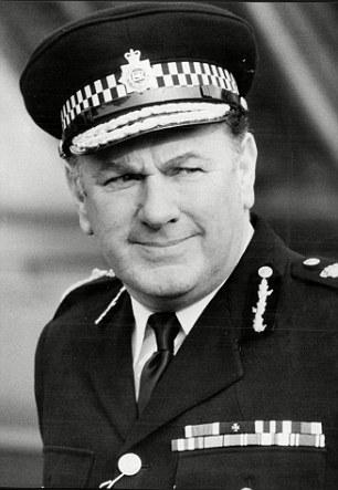 Sir David McNee, now 90, was Metropolitan Police Commissioner between 1977 and 1982