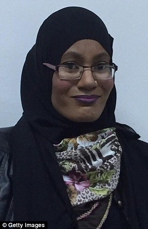 Under surveillance: Jamila Henry was questioned by MI5 before she fled to try and travel to Syria