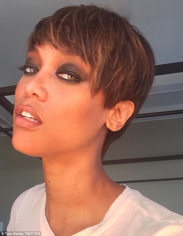 Tyra Banks Ditches Signature Long Luscious Tresses In