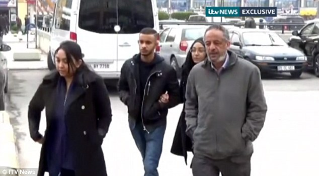 Anguish: The families of three missing London schoolgirls have travelled to Turkey to retrace their steps