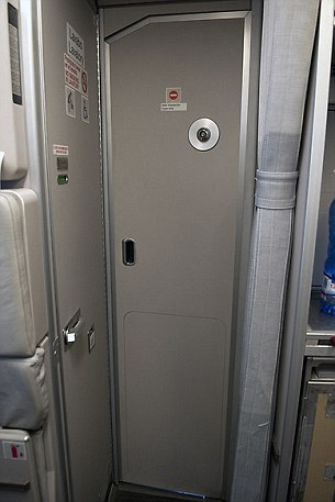 Access to the cockpit door on the Germanwings Airbus A320 (like the one above) can be disabled from inside the flight deck, raising speculation that one of the pilots deliberately locked the other out