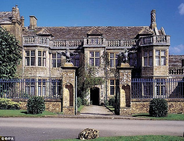 Mr Montagu has previously told how, every morning, he would be called to his father's room at the family home at Mapperton, in Dorset (pictured), and would stay there from 7.30 until 8.45am
