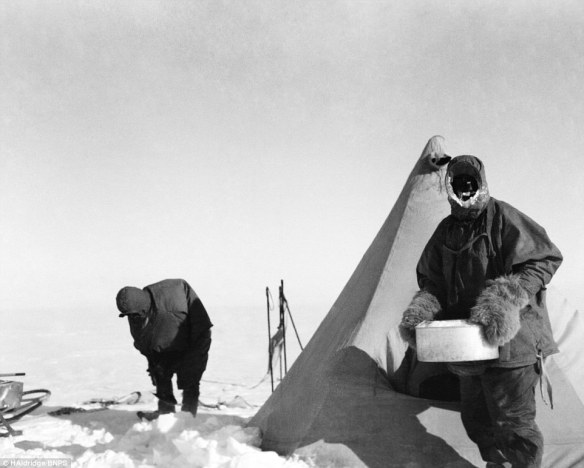 ... <b>Scott's</b> doomed <b>expedition</b> team setting off on their <b>South</b> <b>Pole</b> mission