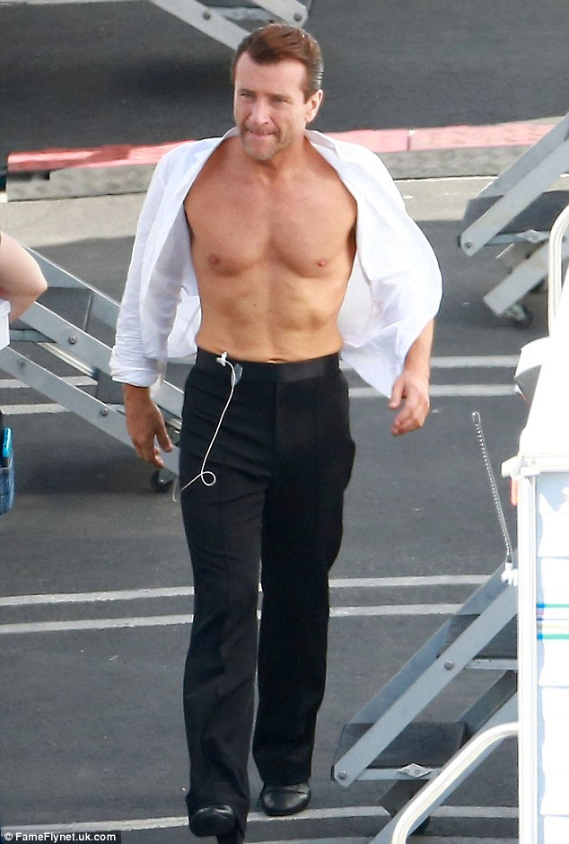 Derek Hough And Val Chmerkovskiy Show Off During DWTS