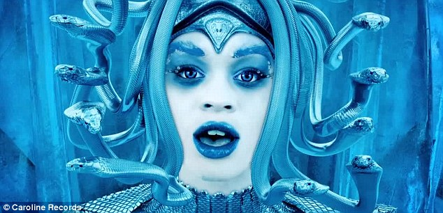 Azealia Banks Channels Medusa With Snakes For Hair In Ice