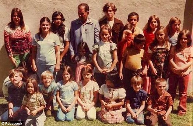 On July 15, 1976, a group of 26 children attending summer classes at Dairyland Elementary School were returning from a trip to a local swimming pool when their bus, driven by Frank Edward Ray, was blocked on the road by three armed men and a white van at 4:00pm (survivors pictured with Frank Edward Ray)