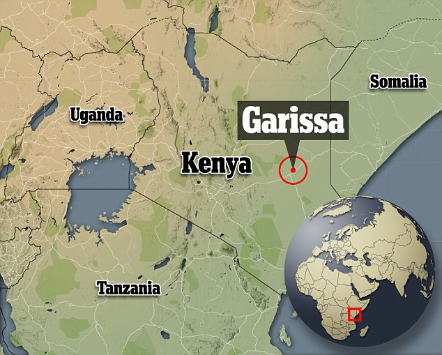 Masked gunmen stormed the Garissa University College campus, in Kenya's north-east, earlier today
